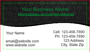 [Image: Creative Accounting Business Card]
