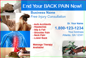 [Image: checkout with Chiropractor Marketing Postcard]