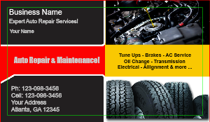 [Image: Auto Repair Business Card Templates]