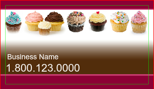 [Image: Cup Cake Business Cards]