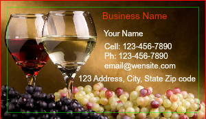 [Image: Restaurant Business Card]