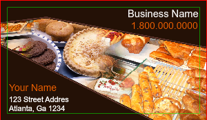 [Image: Bakers Card - Business Card for Bakery]