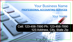 [Image: Bookkeeping Business Cards]