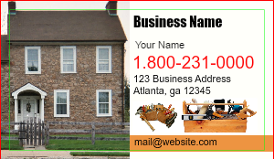 [Image: Handyman Business Card Design]