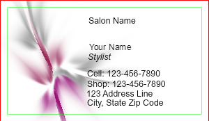 [Image: Hairdresser Business Card Template]