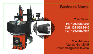 [Image: Tire Shop Business Card Designs]