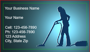 Cleaning service business cards designsnprint commercial cleaning business card colourmoves Gallery
