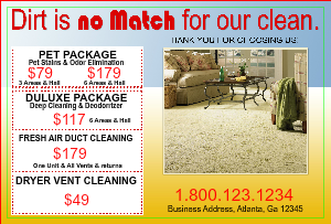 [Image: Carpet Cleaning Flyer Marketing]