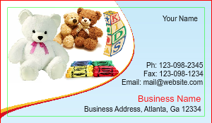[Image: Babysitters Business Card Design]