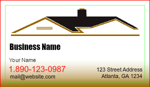Contractor business cards designsnprint image roofing business cards colourmoves