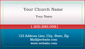 christian business cards modern - Christian Business Cards