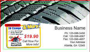 [Image: Auto Service Business Card]