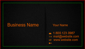 [Image: Custom Business Card Template]