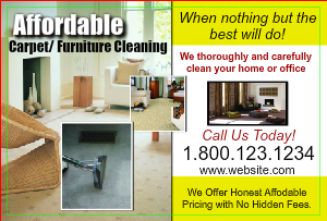 [Image: Carpet Cleaning Postcard Marketing]