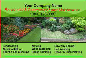 [Image: Design Lawn Care Flyers]