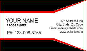 [Image: Programmer Business Card Template]