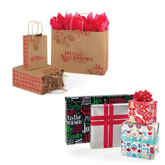 [Image: Holiday Packaging - Bags, Tissue, Gift Wrap]