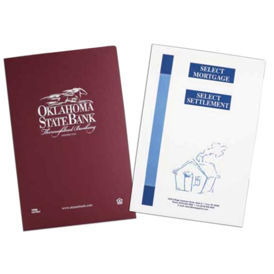 "[Image: Legal Size Presentation Folders | 9 1/2 X 14 1/2"", Custom Printed Folders With Pockets]"