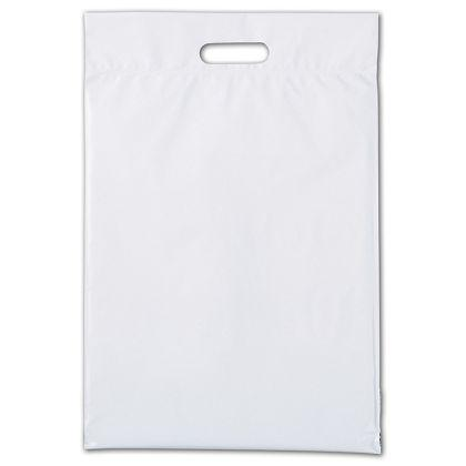 [Image: White Hurry-up Courier Bags With Handles]