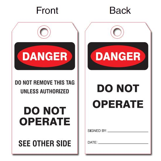 [Image: Production & Safety Tags]