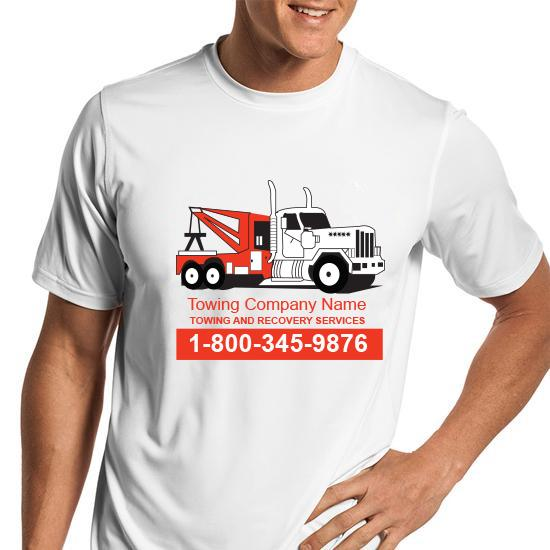 [Image: Tow Truck Towing T Shirts]
