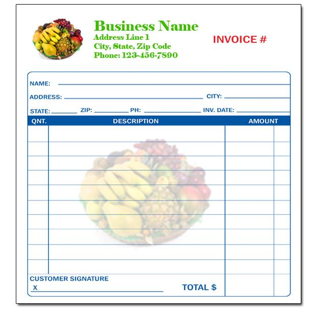 [Image: Custom Carbonless Invoice Forms]