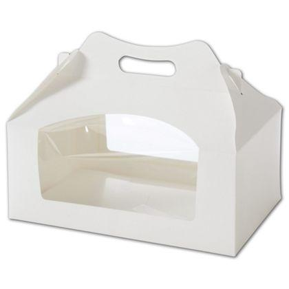 [Image: Cupcake Gable Boxes With Window & Inserts]