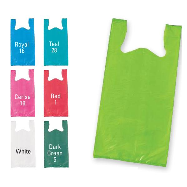 [Image: Color Blank T-shirt Bags]