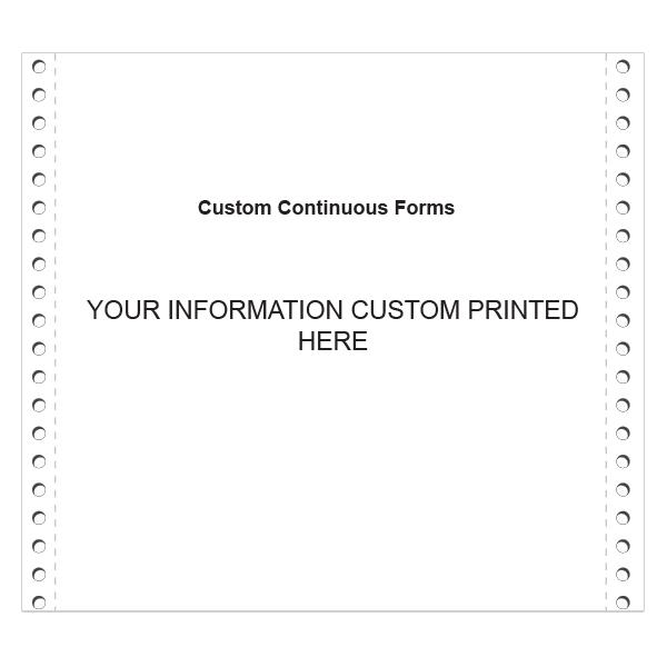 [Image: Custom Continuous Forms]