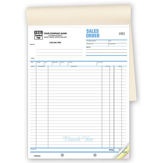 [Image: Sales Order Forms]