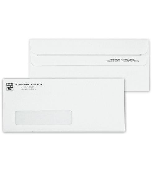 [Image: No. 10 Envelopes, Single Window, Self Seal]