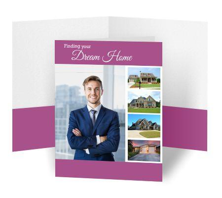 [Image: Real Estate Presentation Folders]