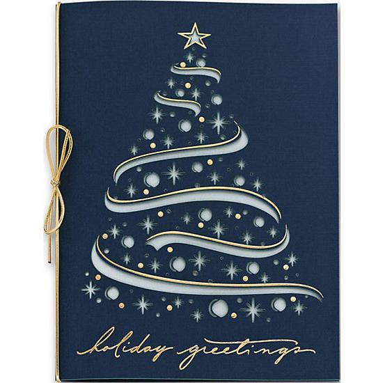 [Image: Celestial Tree Laser Cut Christmas Cards]