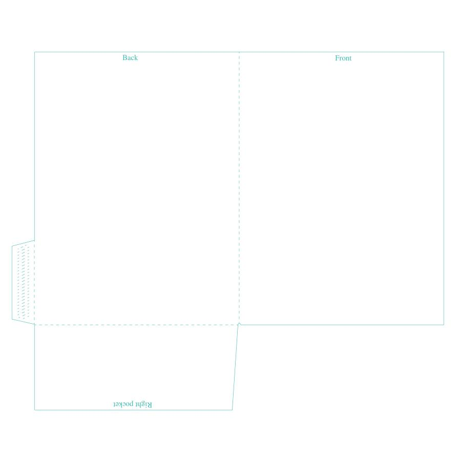 [Image: Presentation Folders - 9 x 12 - One Right Pockets]
