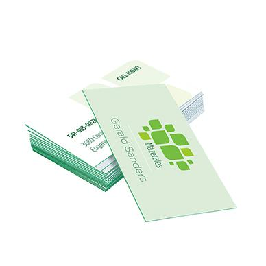 [Image: Trifecta Green Triple-Layered Business Cards]