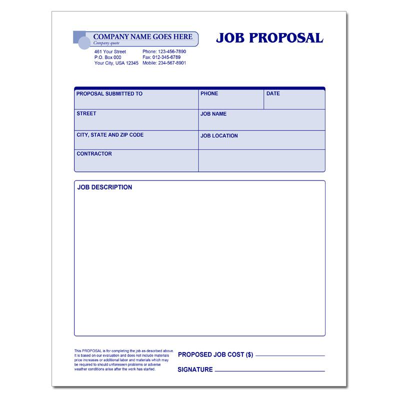 [Image: Business Proposal Forms]