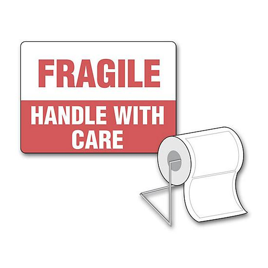[Image: Fragile Handle With Care Label]