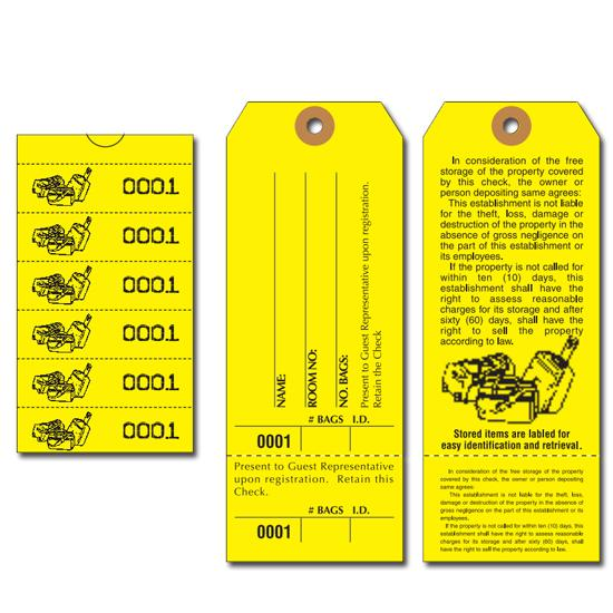 [Image: Bag Identification Tags - Manifold construction]