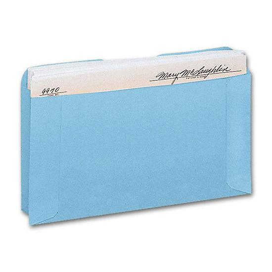 [Image: Expansion Card File Pocket, Blue]