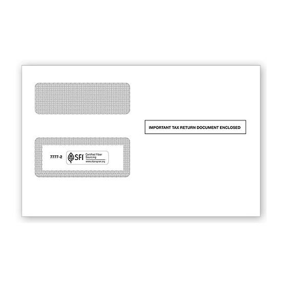 [Image: 1099-misc Self-Seal Tax Form Window Envelopes]