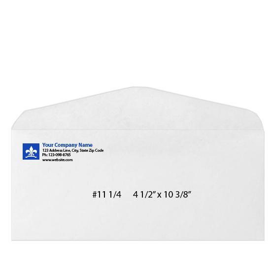 [Image: Custom Printed Business Envelope - #11 1/4 - 4 1/2 x 10 3/8]