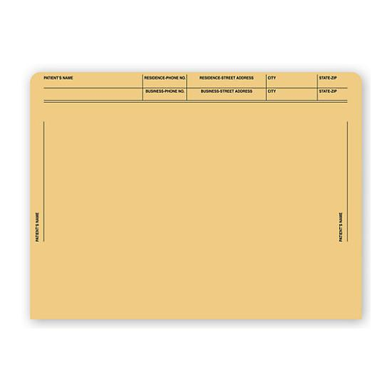 [Image: File Pocket Envelopes, 40lb. Kraft, Pre-Printed]