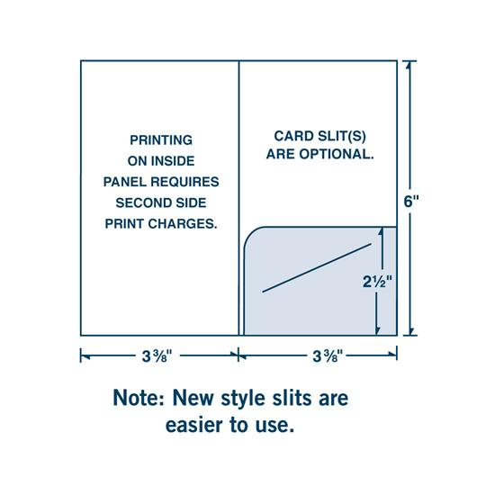 [Image: Custom Key or Gift Card Holder with One Right Pocket ]