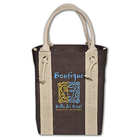 [Image: Yachter's Jute Tote - Personalized]