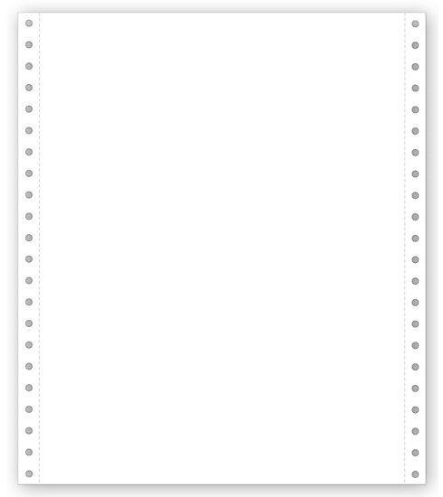 [Image: Blank Continuous Form Paper]