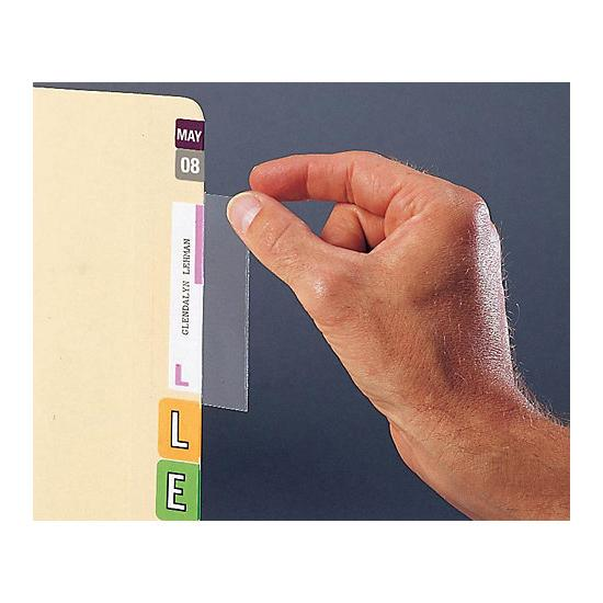 [Image: Clear Self-Adhesive Label Protector]