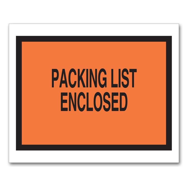 [Image: Packing List Envelope]