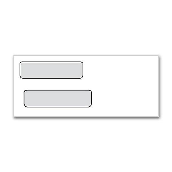 Product details designsnprint for Double window envelope template