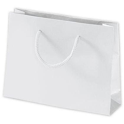 Emerald Shoppers Bag Recycled White 10 X 5 X 10 1 2