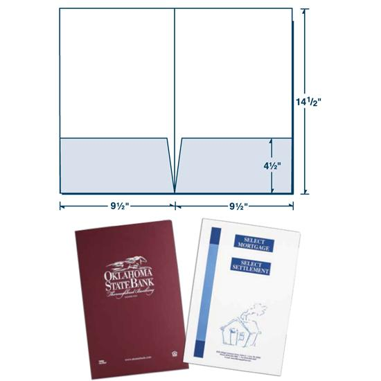 [Image: Legal Size Presentation Folder with Square Corners]